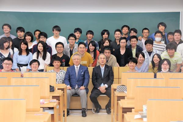 東京歯科大学学長・井出吉信先生が特別講義|松本歯科大学