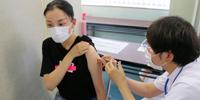 学生450人にワクチン接種を実施