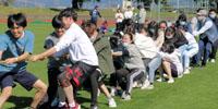 第31回体育祭 澄み切った秋空の下、学生間の親睦深める