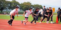 秋晴れの中、第32回体育祭を開催