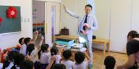 小児歯科学講座・森山敬太助教が朝鮮初中級学校で歯科指導