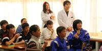 第1学年生が広丘小で歯科保健指導