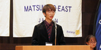 留学生による日本語スピーチコンテストで本学学生が第1位
